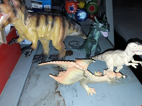Lot 564 A LOT OF 4 DINOSAURS