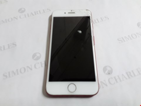 Lot 8046 APPLE IPHONE 7 256GB IN RED - A1778