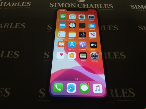 Lot 4849 BOXED APPLE IPHONE X 64GB SMARTPHONE