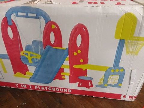 Lot 831 BOXED DOLU 7-IN-1 PLAYGROUND RRP £235