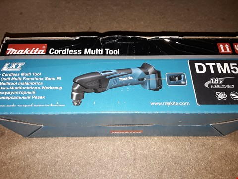 Lot 2262 MAKITA CORDLESS MULTI TOOL