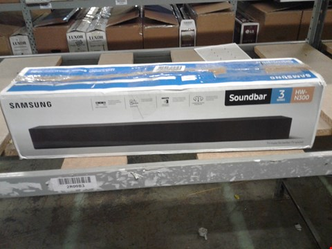 Lot 11043 SAMSUNG SOUNDBAR SERIES 3 HW-N300 RRP £280
