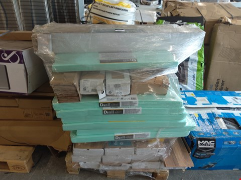 Lot 1057 PALLET OF ASSORTED LAMINATE FLOORING AND UNDERLAY  RRP £815.00