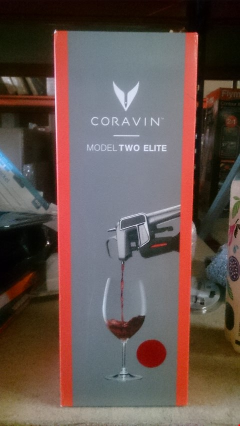 Lot 5504 CORAVIN MODEL TWO ELITE (POUR WINE WITHOUT PULLING THE CORK)