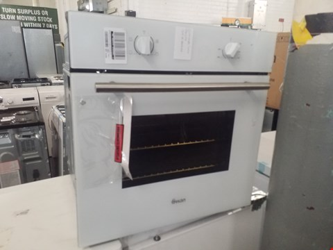 Lot 8575 SWAN SXB7060 BUILT IN ELECTRIC OVEN RRP £170.00