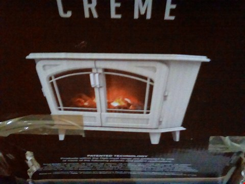 Lot 480 DIMPLEX OPTI-MYST GRAND CREAM ELECTRIC FIRE  RRP £563