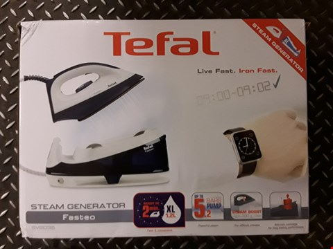 Lot 1366 TEFAL STEAM GENERATO FASTEO IRON