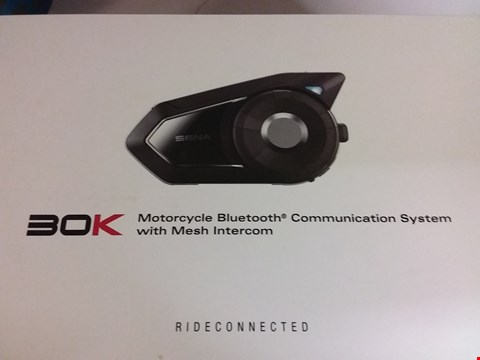 Lot 78 SENA MOTORCYCLE BLUETOOTH COMMUNICATION SYSTEM