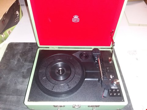 Lot 1727 GPO ATTECHE RECORD PLAYER