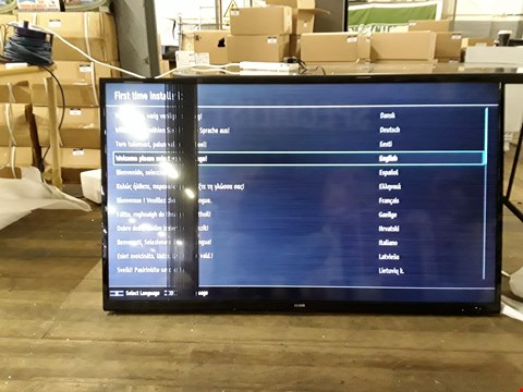 "Lot 7159 LUXOR 55"" ULTRA HD LED TELEVISION MODEL LUX0155005/01"