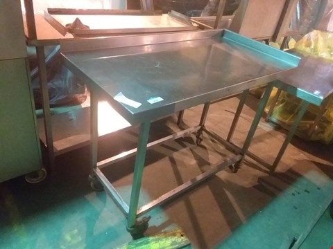 Lot 4020 STAINLESS STEEL FOOD PREPARATION UNIT