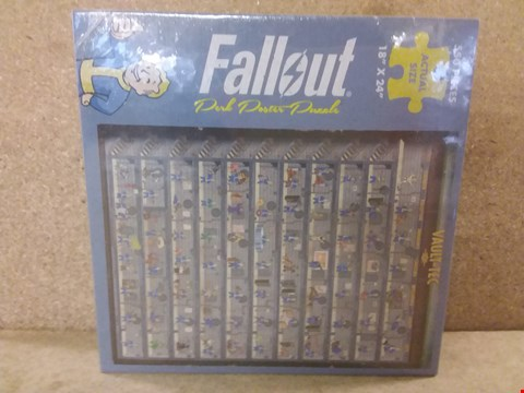 Lot 419 BRAND NEW BOXED FALLOUT PERK POSTER PUZZLE