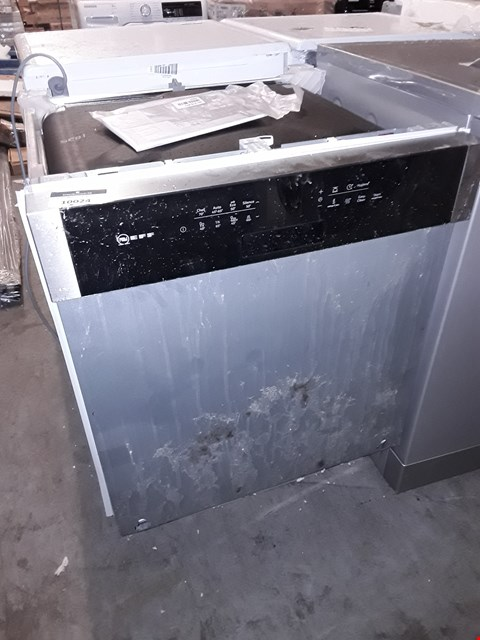 Lot 10024 NEFF INTEGRATED DISHWASHER
