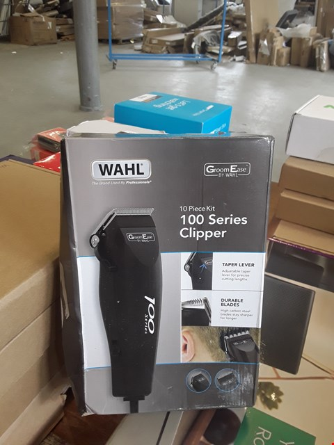Lot 172 BOXED WAHL 100 SERIES CLIPPER 10-PIECE KIT