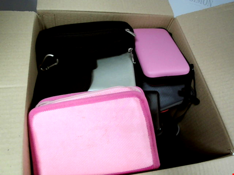 Lot 9136 LARGE LOT OF ASSORTED CASES/COVERS FOR PHONES, TABLETS & CONSOLES