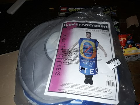 Lot 6058 I LOVE FANCYDRESS OZRERS BEER CAN AND LFC BAG