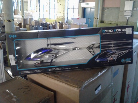 Lot 7144 GYRO FORCE X HIGH PERFORMAMCE RC HELICOPTER