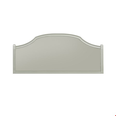Lot 3045 CONTEMPORARY DESIGNER BOXED ABELLA 5' HEADBOARD IN A HAZE FINISH  RRP £306.00