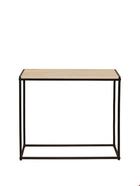 Lot 96  TELFORD INDUSTRIAL CONSOLE TABLE  RRP £49