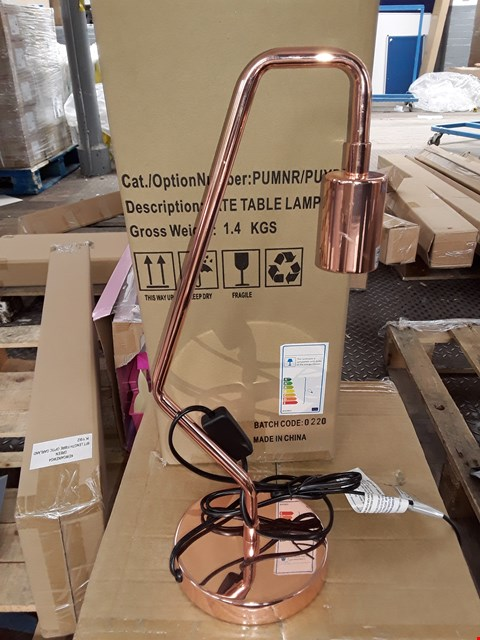 Lot 144 LOT OF 2 TATE TABLE LAMPS - 1 BOXED 1UNBOXED