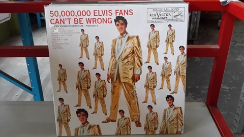 Lot 9079 LOT OF 10 ASSORTED VINYL RECORDS TO INCLUDE ELVIS PRESLEY, THE BEATLES, THE ROLLING STONES, THE MONKEES, DUSTY SPRINGFIELD ETC
