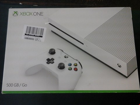 Lot 1052 BOXED X BOX ONE 500GB GAMES CONSOLE RRP £389
