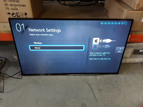 "Lot 2010 SAMSUNG 40"" H5500 SERIES 5 SMART FULL HD LED TV WITH REMOTE - UE40H5500"