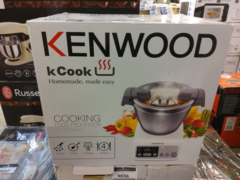 Lot 9035 BOXED KENWOOD KCOOK FOOD PROCESSOR