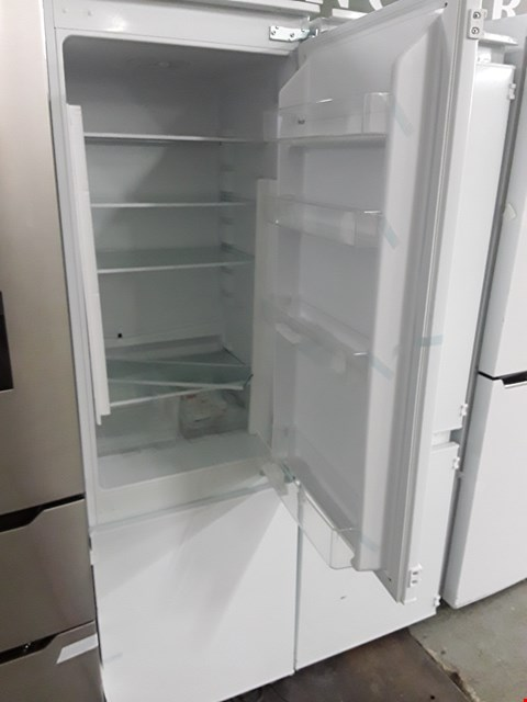 Lot 12065 SWAN INTEGRATED FRIDGE FREEZER