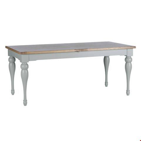Lot 12 BOXED DESIGNER WILLIS & GAMBIER MALVERN LARGE EXTENDING DINING TABLE (1 BOX) RRP £999