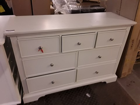 Lot 2074 DESIGNER PAINTED WOOD 3 & 4 DRAWER CHEST
