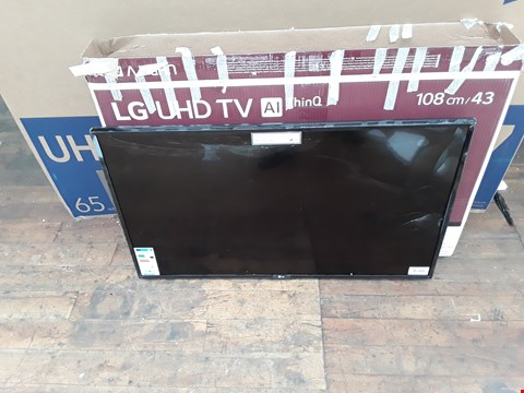 "Lot 1143 LG 43"" UHD TV - DAMAGED"