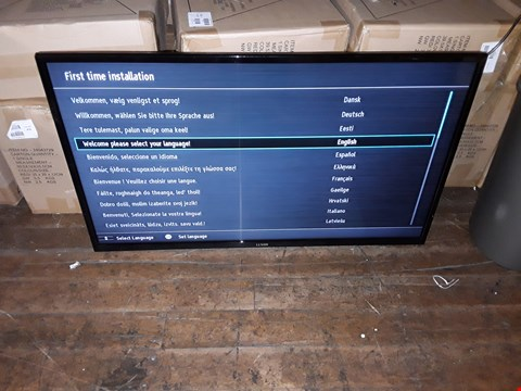 "Lot 1023 LUXOR 39"" FULL HD SMART TELEVISION MODEL LUX0139002/02 RRP £389.99"