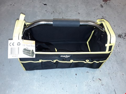"Lot 13934 MARKO TOOLS 19"" TOOL BAG"