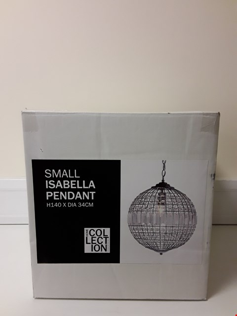 Lot 6040 BOXED SMALL ISABELLA PENDANT