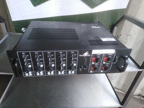 Lot 3004 MONACOR PA 12040 4 ZONE PA MIXING AMPLIFIER 230V