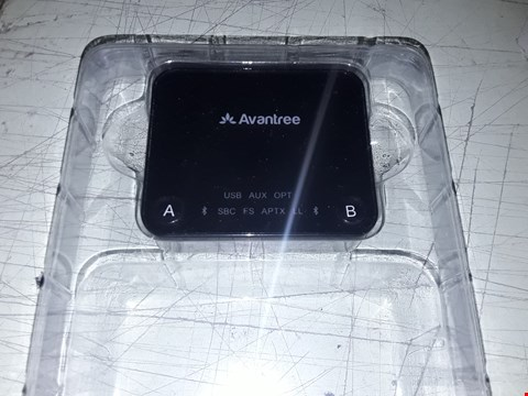 Lot 7254 AVANTREE APTX LOW LATENCY BLUETOOTH AUDIO TRANSMITTER