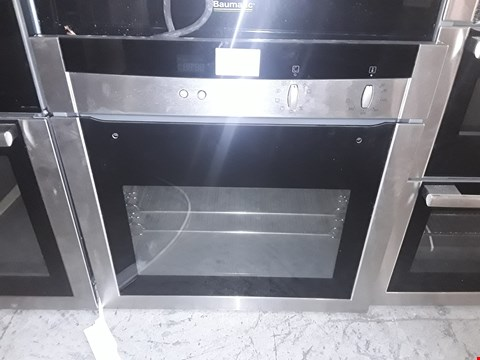 Lot 10 NEFF INTEGRATED ELECTRIC SINGLE OVEN