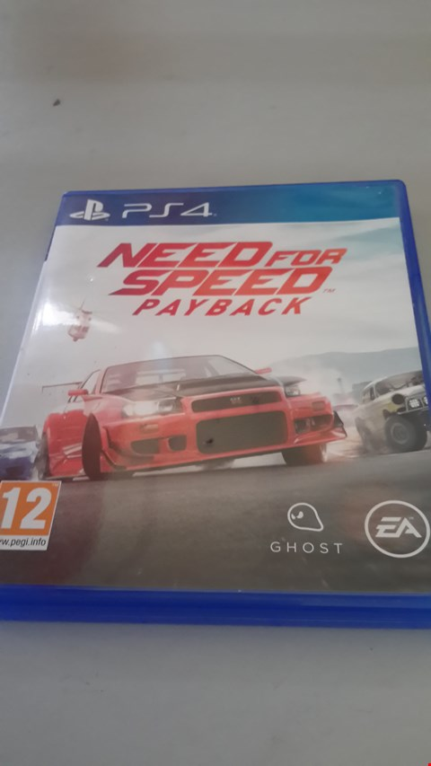 Lot 9048 NEED FOR SPEED PAYBACK PLAYSTATION 4