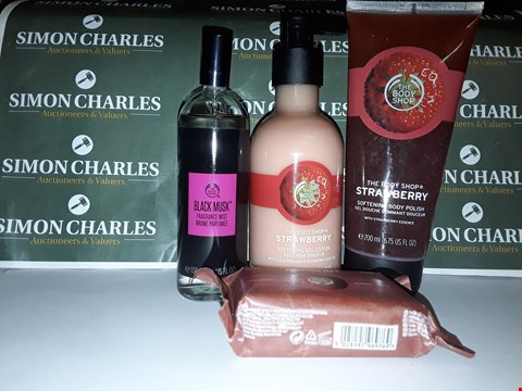 Lot 45 LOT OF 4 ASSORTED BODY SHOP PRODUCTS