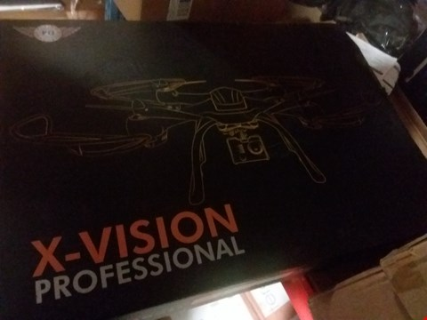 Lot 414 X-VISION PROFESSIONAL DRONE WITH HD CAMERA