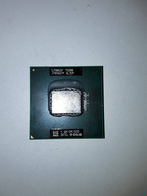 Lot 496 INTEL CORE I5 PROCESSOR