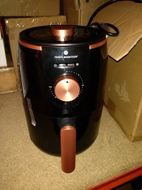 Lot 6378 COOKS ESSENTIALS 1.8L COMPACT AIR FRYER