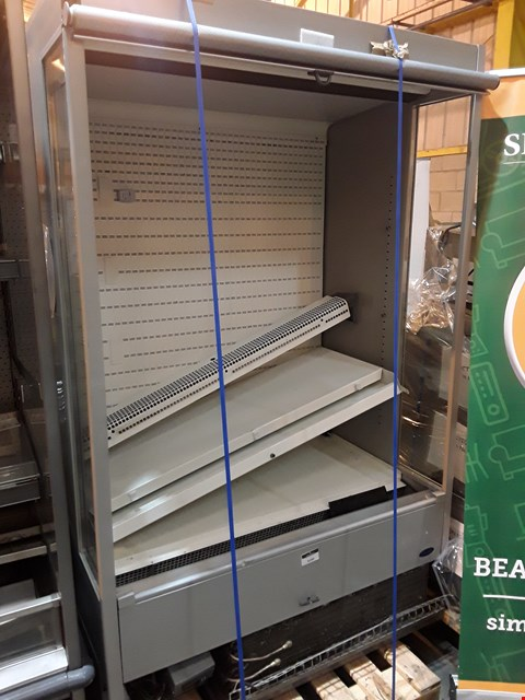 Lot 3023 TALL REFRIGERATED DISPLAY UNIT WITH ROLLER BLIND