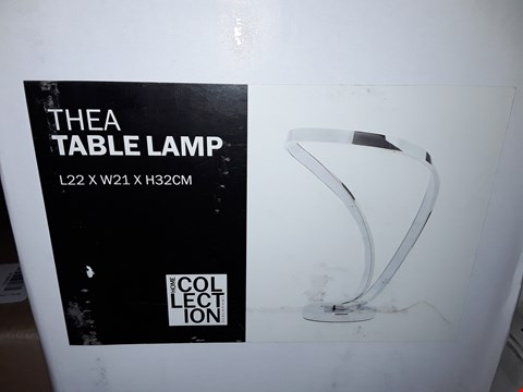 Lot 386 BOXED HOME COLLECTION THEA TABLE LAMP