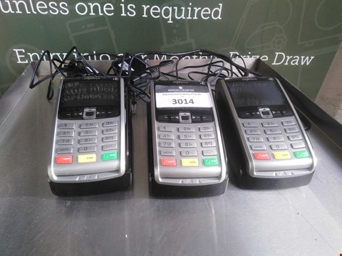 Lot 3014 3 INGENICO IWL250 CARD READERS