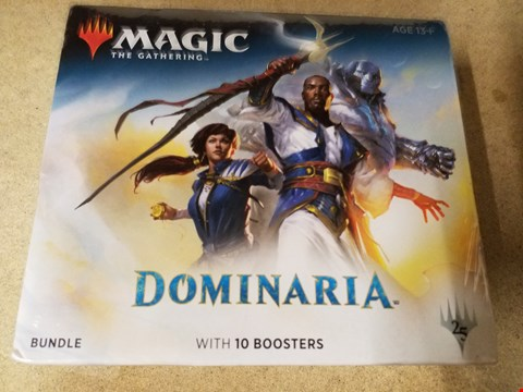 Lot 2006 A BOXED DOMINARIA BUNDLE WITH 10 BOOSTERS