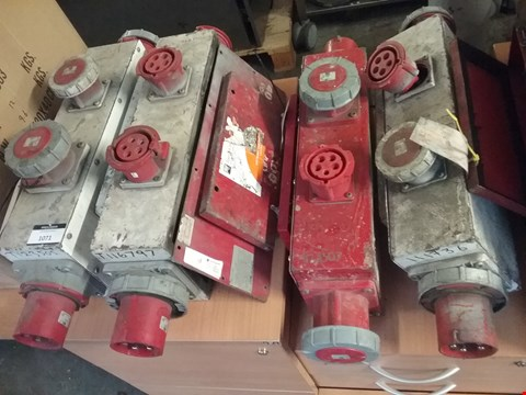 Lot 1071 APPROXIMATELY 4 INLINE DISTRIBUTION BOXES