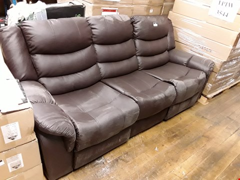 Lot 1205 VERONA THREE SEATER RECLINER SOFA