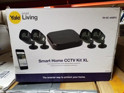 Lot 448 YALE SMART LIVING SMART HOME CCTV KIT XL RRP £519